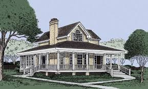 country farmhouse plans with wrap around porch small country home 1500 sf the wrap around porch for
