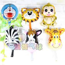 inflated balloons delivered wholesale mini tiger amp zebra amp deer amp cow amp monkey
