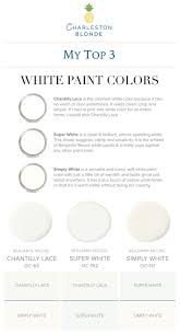 what is the most popular white for trim favorite white interior paint colors charleston