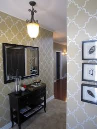 bathroom wall stencil ideas 419 best stenciled painted walls images on wall