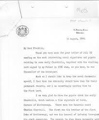 forwarding letter winston churchill fdr thank you letter for forwarding naval