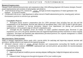 executive resume formats and exles how to write the executive resume for managers and senior