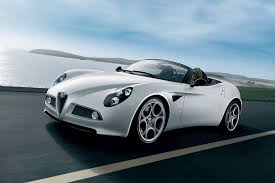 alfa romeo classic the alfa romeo 8c spider is future classic material