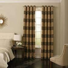 striped curtains u0026 drapes window treatments the home depot