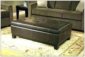 dark brown storage ottoman brown leather ottoman coffee table brown ottoman coffee table