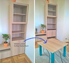 this is a quite simple hack for creating a space saving hidden