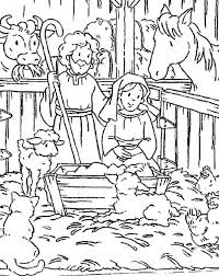 baby jesus christmas coloring pages kids baby coloring pages