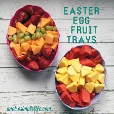 fruit and nut easter eggs easter egg fruit tray an easy gluten free dairy free soy free