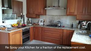 how much does it cost to respray kitchen cabinets kitchen respray dublin youtube