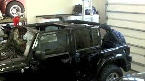 jeep wrangler top removal top cap ez lift use on a jeep wrangler top