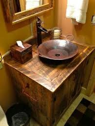 Rustic Bathroom Vanity by Bathroom Modern Contemporary Bathroom Furniture Design Of Brown