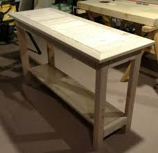 White Accent Table Ana White 2x4 Accent Table Diy Projects