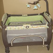 pack and play with bassinet and changing table find more graco pack n play with bassinet euc for sale at up to 90 off