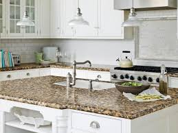 Paint Kitchen Countertops Granite Countertop Best Way To Paint Kitchen Cabinets White