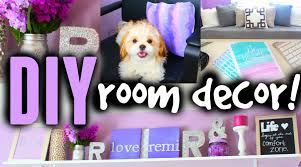 Bedroom Decor Diy by Diy Room Decor Ideas For Teens Cute Cheap U0026 Easy Youtube