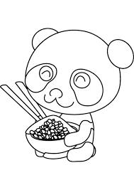 baby panda coloring pages bestofcoloring