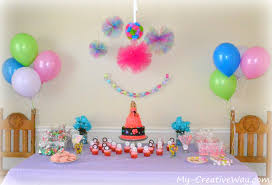 decor view how to make birthday party decorations inspirational
