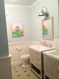 long view hexagon tile floor 2 sinks bathrooms pinterest