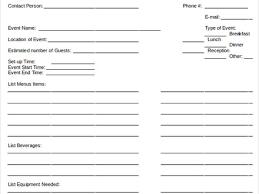 26 banquet checklist template 7 event checklist template