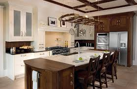 light brown granite counter tops kitchens island sinks butcher