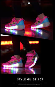 heelys light up shoes shoes with led lights children heelys roller shoes kids sneakers