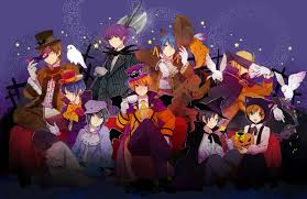 halloween anime pictures anime halloween wallpaper backgrounds clipartsgram com