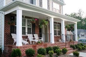 colonial front porch designs front porch designs for brick homes best home design ideas