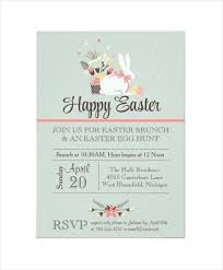 brunch invitations templates easter invitation template 31 psd eps format free
