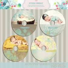instant download pro photographers cd dvd label templates psd