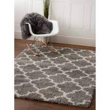 Shag Carpet Area Rugs Shag Rug Shag Rug Gray White High Quality Carpet Polypropylene