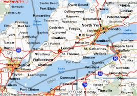 map us states bordering canada map usa and canada border major tourist attractions maps