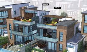 the urban yard roof decks in single family residential design