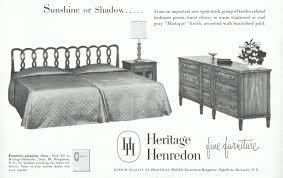 heritage henredon furniture advertisement gallery heritage henredon cherry furniture 1955 ad picture