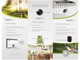 modern colorful brochure design for heartau by leonfx design