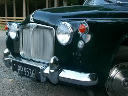 1964 rover p4 110 series
