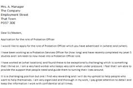 Doorman Resume Sample by Why I Want To Be A Probation Officer Essay