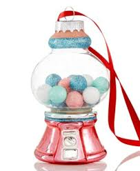 gumball machine ornament created for macy s