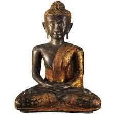 buddha statues for home decor impressive bronze buddha statue in rattanakosin style late 19th
