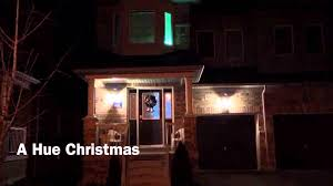 Philips Halloween Lights A Hue Christmas Using Philips Hue Lighting Youtube