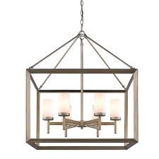 Jefferson 9 Light Chandelier Traditional - golden lighting u0027s smyth 6 light chandelier white gold u0026 opal