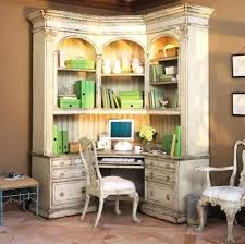 Home Office Desk Armoire Home Office Desk Armoire Corner With Hutch In Traditional
