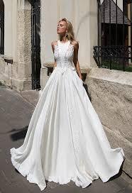 oksana mukha wedding dress elegance 2017 collection azure model