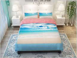 beach themed bedding queen size bedroom home decorating ideas