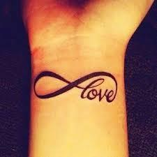 infinite love tattoo infinity wrist tattoo on tattoochief com
