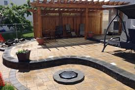 Stone Patio Images by Paving Stone Patios