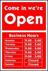 uk business opening times local business opening hours