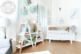 Hudson 3 In 1 Convertible Crib by Inside Justin And Emily Baldoni U0027s Nursery For Their Son