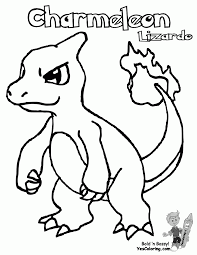 charmeleon coloring page for charmander coloring page itgod me