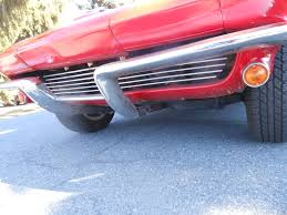 1963 corvette convertible w hard top new paint riverside red black