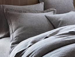 Chambray Duvet Cover Queen Organic Relaxed Linen Duvet Cover Natural Comforter Cover